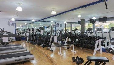Fitness center Krystal Satélite María Bárbara Hotel Tlalnepantla de Baz